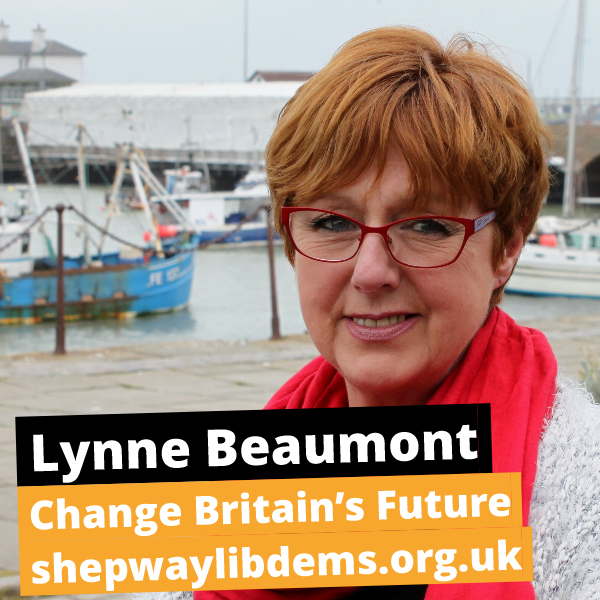 Lynne Beaumont 2017 General Election Campaign Poster