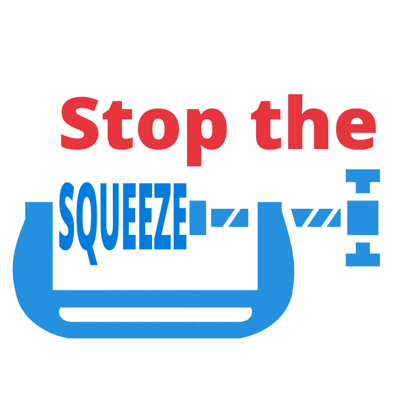 Stop the Squeeze logo