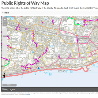 Right of Way Map