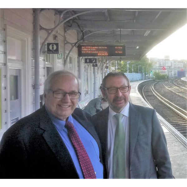 Ian and Rob at Maidstone East