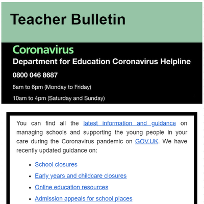 Teacher Bulletin