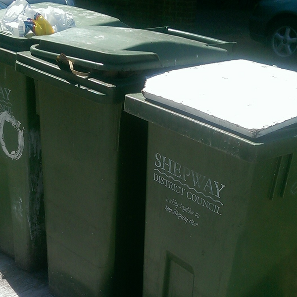 Recycling and Residual / General Waste Wheely bins