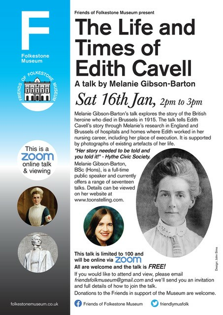Edith Cavell event poster